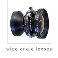 wide angle lenses