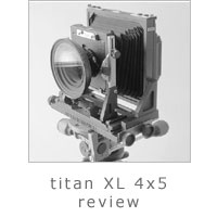 Titan XL 4x5 Review